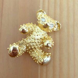 Adorable Teddy Bear pin 🌼